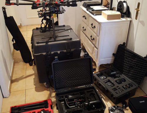 DJI s1000 ready for aerial capture